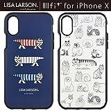 【カラー:スケッチ】iPhoneX リサラーソン Lisa Larson イーフィット ケース キャラクター ソフト ソフトケース ハード ハードケース シリコン ゴム かわいい グッズ マイキー ネコ アイフォンテン アイフォンX アイフォンテン iPhoneXケース iphone X エックス テン 10 s-gd_7a216