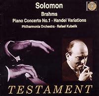 Brahms: Piano Concerto, No. 1 / Handel Variations (1998-09-01)