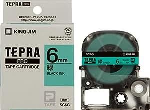 キングジム テープカートリッジ テプラPRO SC6G  カラーラベル