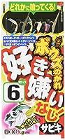 ささめ針(SASAME) X-007 ボウズノガレ好き嫌いナシ! 7号1.5