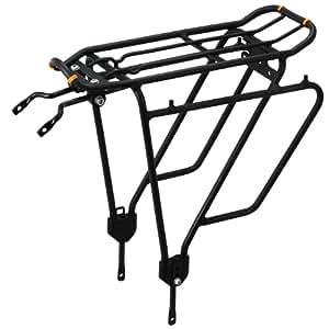 Ibera(イベラ)PakRak自転車用ツーリングキャリア プラス +より重いものをトップへ&サイドへの荷物のためのIB-RA4フレーム搭載
