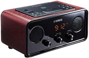 ヤマハ デスクトップオーディオシステム Bluetooth対応 ダークレッド YAX-720RD
