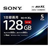 ソニー SONY ビデオ用ブルーレイディスク (5枚パック) 5BNR4VAPS4 / 日本製 / 4層 / BD-R / 4倍速対応