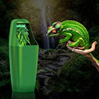 爬虫類カメレオントカゲディスペンサーテラリウム220-240V ACを給餌水フィルターの噴