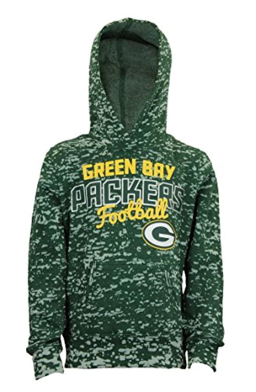 Green Bay Packers NFL Youth Girlsフリースパーカー、グリーン
