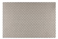 "Kraftware 44237The everytableコレクション長方形プレースマットのセット12、18"" x 12インチ、シルバー織り"