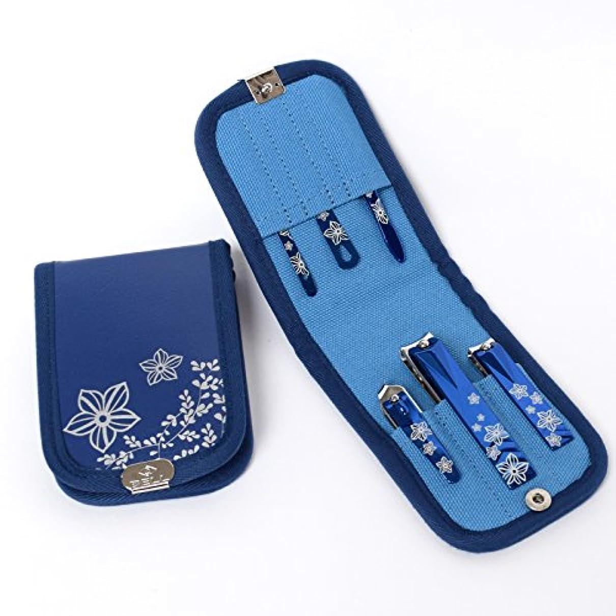 雄弁な日付敵対的BELL Manicure Sets BM-360 ポータブル爪の管理セット 爪切りセット 高品質のネイルケアセット高級感のある東洋画のデザイン Portable Nail Clippers Nail Care Set