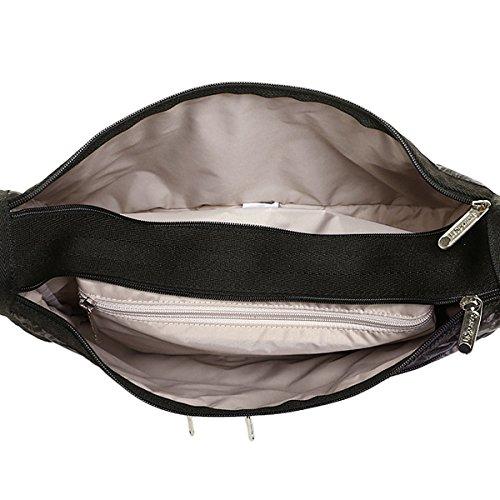 (レスポートサック) LeSportsac レスポートサック バッグ LESPORTSAC 7507 D609 DELUXE EVERYDAY BAG ショルダーバッグ BALI CHARCOAL[並行輸入品]