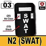 AFM 防弾シールド N2 SWAT ブラック