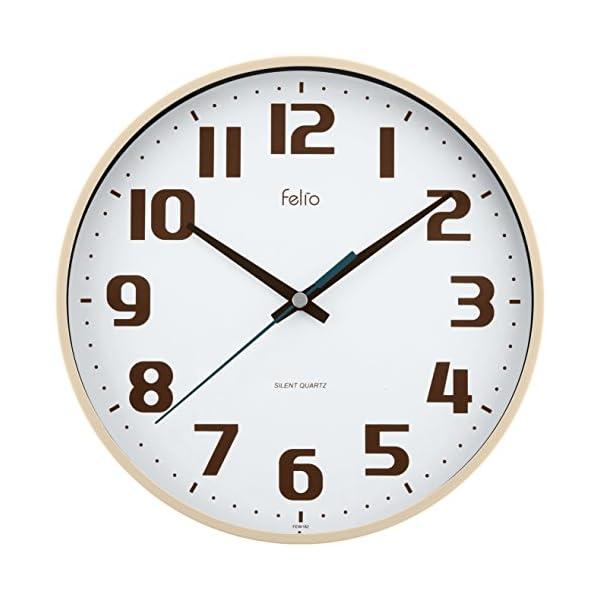 Felio(フェリオ) 壁掛け時計 チュロスの商品画像