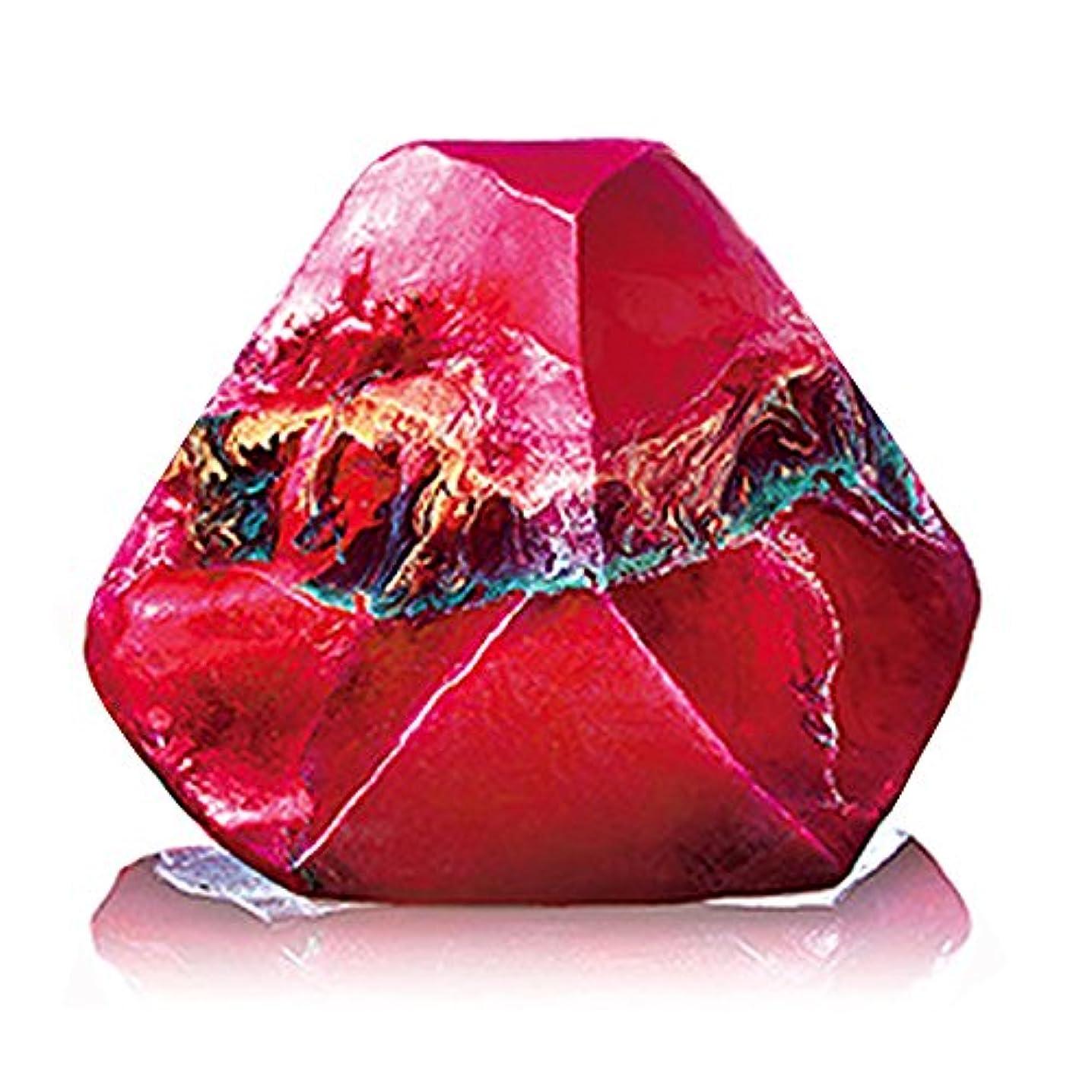 保持描写開拓者Savons Gemme サボンジェム 世界で一番美しい宝石石鹸 フレグランス ソープ ガーネット ミニ 114g