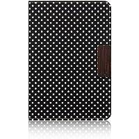 Simplism iPad mini スマートフリップシェル 可変スタンド機構付 マイクロドット TR-SFIPDM12-MD