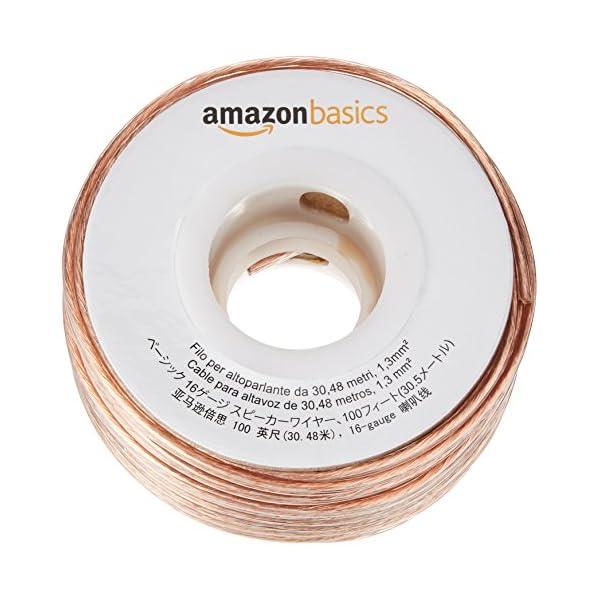 Amazonベーシック 16ゲージ スピーカー...の紹介画像2