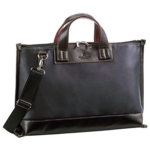 PHILIPE LANGLET (フィリップラングレー) ビジネスバッグ 44cm 日本(豊岡)製 26552-01 黒