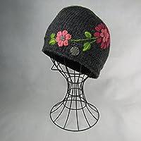 ドイツ発(MOSHIKI BRAND):レディース ビーニー型ニット帽子:ZILLA