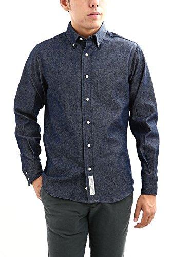 INDIVIDUALIZED SHIRTS (インディビジュアライズドシャツ) STANDARD FIT VINTAGE DENIM ヴィンテージデニム ボタンダウンシャツ INDIGO (インディゴ) MADE IN USA