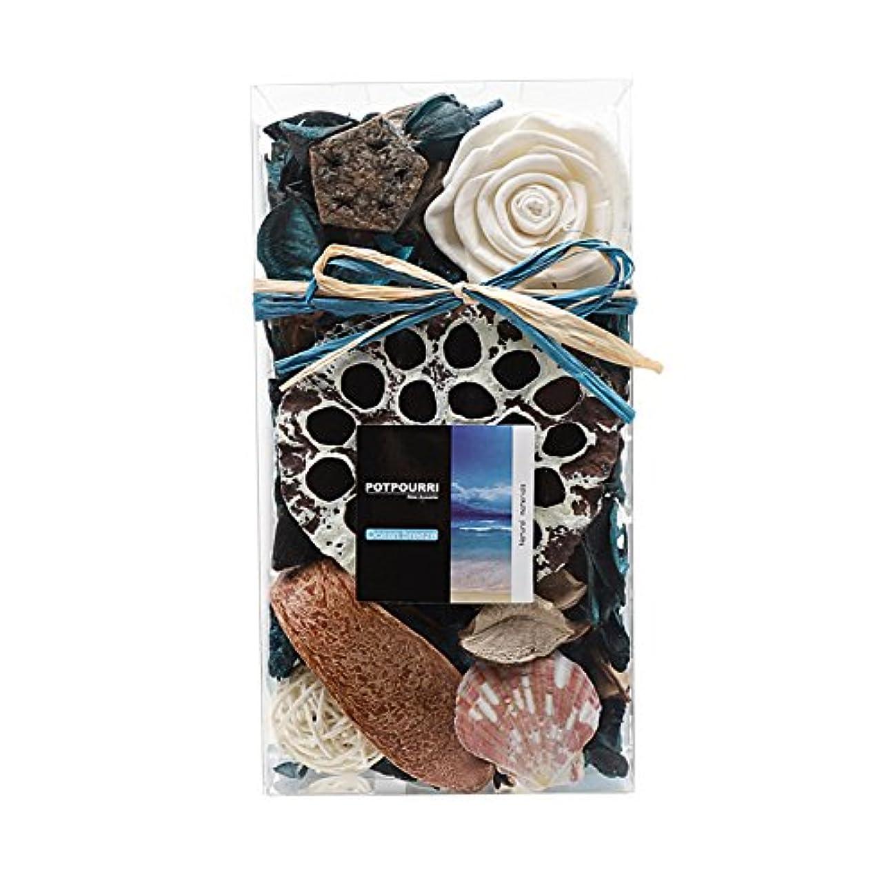 鋸歯状ひばり本Qingbei Rina ポプリ 青色 300g 海のポプリ ギフト 手作りの自然素材