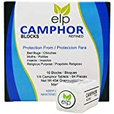 Camphor Blocks Refined 16 Blocks (64 Tablets)