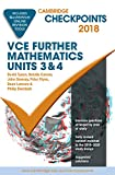 Cover of Cambridge Checkpoints VCE Further Mathematics 2018 and Quiz Me More