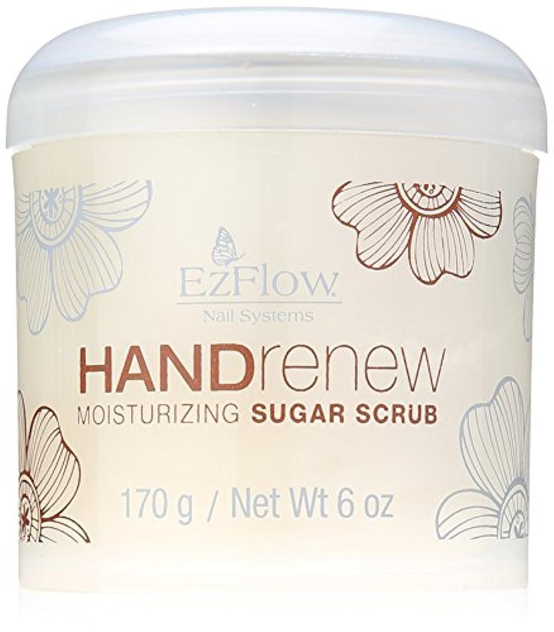 スポーツマンオゾン要件EzFlow Natural Nail Care Treatments - HANDrenew Moisturizing Sugar Scrub - 6oz / 170g
