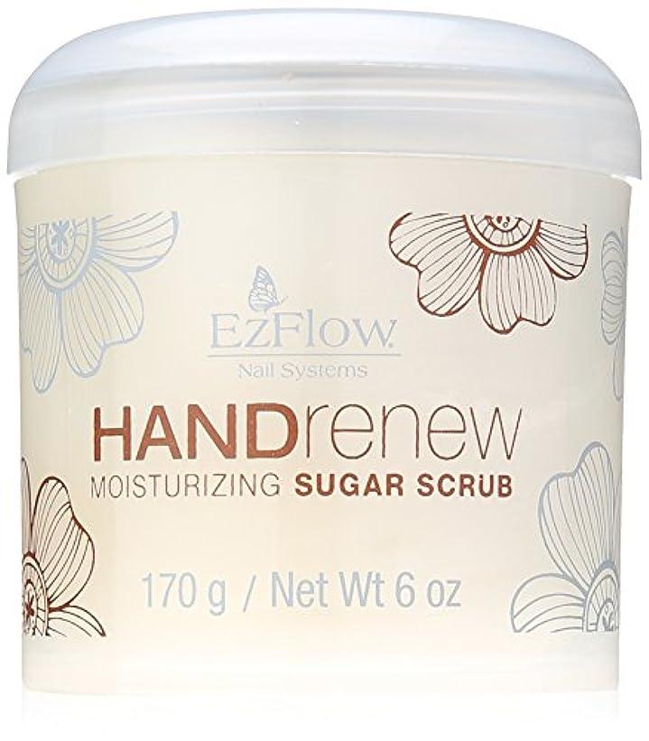 ベテランつぼみブラザーEzFlow Natural Nail Care Treatments - HANDrenew Moisturizing Sugar Scrub - 6oz / 170g