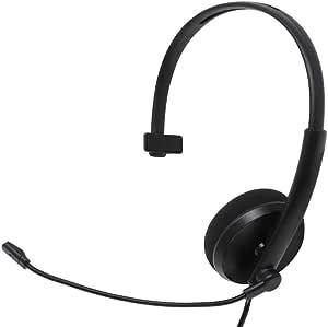 アイネックス 高音質USBヘッドセット 片耳タイプ AHS-03