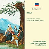 Mozart: Divertimento in E Flat by OISTRAKH / KUCHL / STAAR / BARTOLOMEY