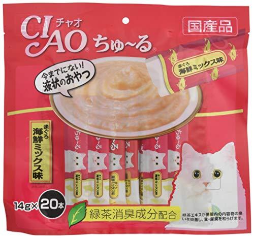 チャオ (CIAO) 猫用おやつ ちゅ~る フィッシュ 14g×20本入