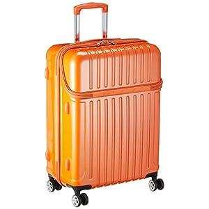 [アクタス] スーツケース トップス M 59L 3.9kg トップオープン 預入無料 59.0L 63.5cm 3.9kg 74-20326 06 オレンジカーボン