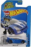 Hot Wheels 2014 Hw City Speed Team Blue Quick N' Sik 32/250 by Hot Wheels [並行輸入品]