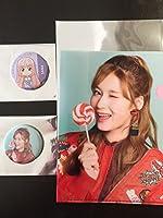twice candy カフェ クリアファイル 缶バッジ (ビジュアル、アニメ)セット サナ SANA