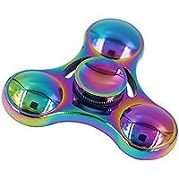 ZYCR ハンドスピナー Fidget Spinner 最新型 おもちゃ ストレス解消 暇つぶし フォーカス 三葉 カラフル