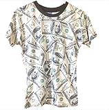 USA アメリカ 100 ドル 札 半袖 T シャツ M サイズ 海外限定