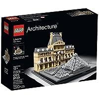 輸入レゴ LEGO Architecture 21024 Louvre Building Kit [並行輸入品]