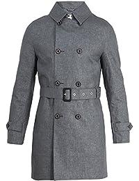 (マッキントッシュ) Mackintosh メンズ アウター トレンチコート Double-breasted linen trench coat [並行輸入品]