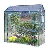 ビニールハウス 温室 トマト温室野菜は、強力な補強カバーと側面換気、ミニ透明防水栽培室を備えた家を育てます 家庭用 ガーデニング温室