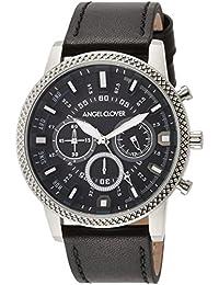 [エンジェルクローバー]AngelClover 腕時計 Ridge ブラック文字盤 RD44SBK-BK メンズ