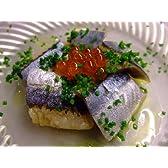冷凍(窒素凍結)北海道産 刺身用・サンマ(秋刀魚)フィレ 12枚6本分