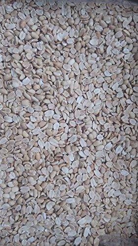 稲葉 ピーナッツハーフ(二つ割れ)10kg(バラ)無塩 業務用