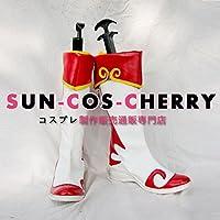 【サイズ選択可】コスプレ靴 ブーツ K-851 真・三國無双 小喬 女性23.5CM