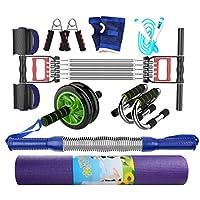 家庭用フィットネス機器、多機能トレーニングセットメンズチェストエキスパンダースポーツ用品ムーブメントアームバープーラーストレングストレーニング (色 : A, サイズ さいず : 40KG)