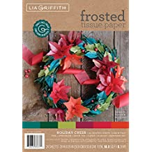 Lia Griffith Frosted Tissue Paper Holiday Cheer