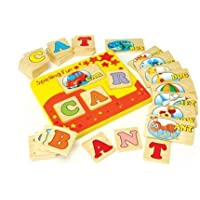 Spell & Learn Fun Set by ConstructivePlaythings [並行輸入品]