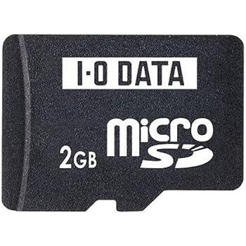I-O DATA microSDカード 2GB miniSD&SDアダプター付 SDMC-2G/A