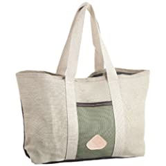 Terrapax Custom Tote: Olive / Natural