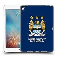 オフィシャルManchester City Man City FC フルカラー・黒曜石&ブルー クレスト iPad Pro 9.7 (2016) 専用ハードバックケース