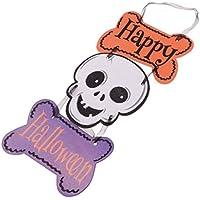Baosity ハロウィーン 頭蓋骨 ぶら下げ パーティー お化け 写真背景
