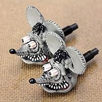 ラットフィンク(RAT FINK) ナンバープレートボルト グレー_NB-RAF264GY-MON