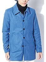 (ベストマート)BestMart 英国スタイル モード ウール ステンカラーコート ロング メンズ 618915