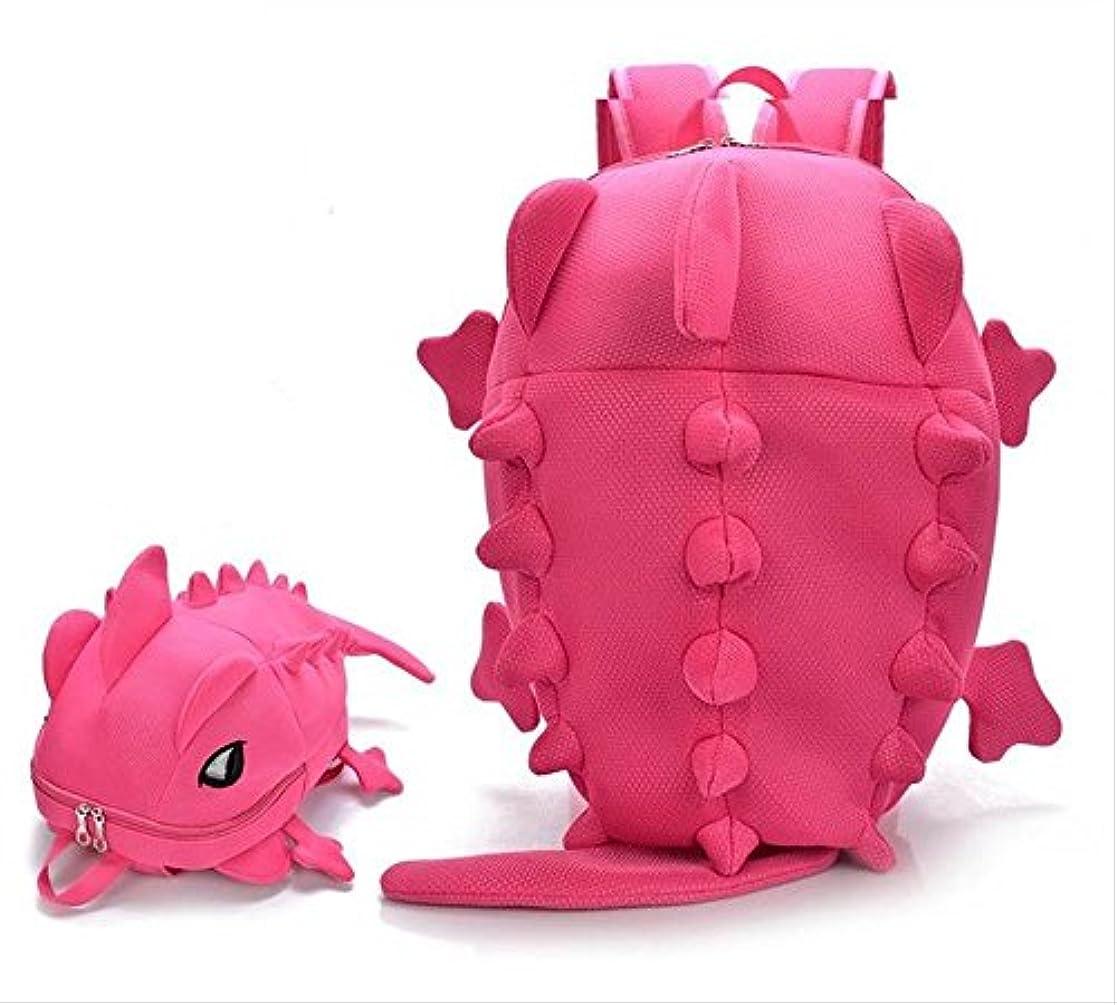 悲惨な足枷根拠Sta.ANA(サンタ?アナ)   レディース ユニーク 恐竜 リュック 選べる カラー 5色 メンズ キッズ も (ピンク)